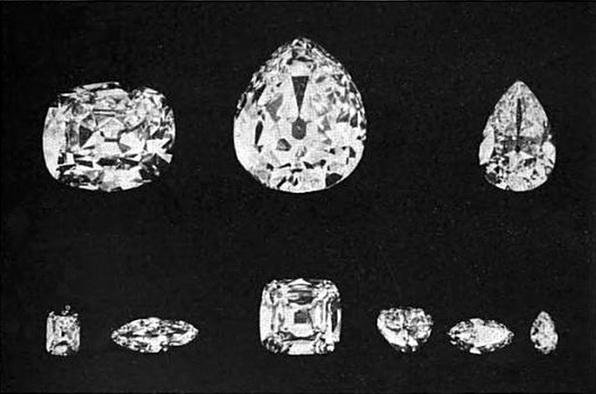 Cullinar Diamond Polished Parts